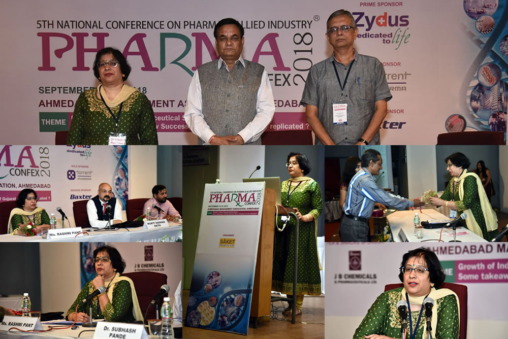 Rashmi Pant participated in the conference in Session 4 and Session 5 on the 15 Sep 2018